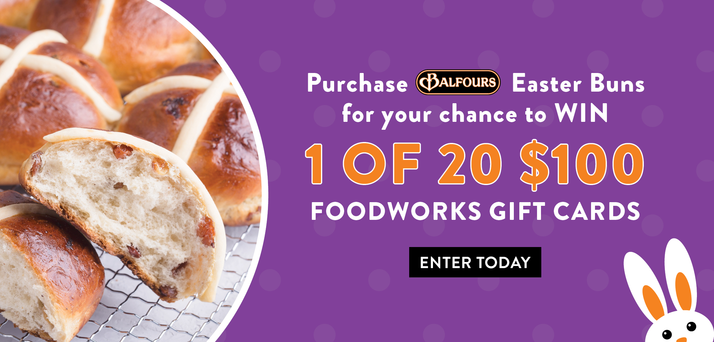 WIN 1 OF 20 $100 FOODWORKS GIFT CARDS