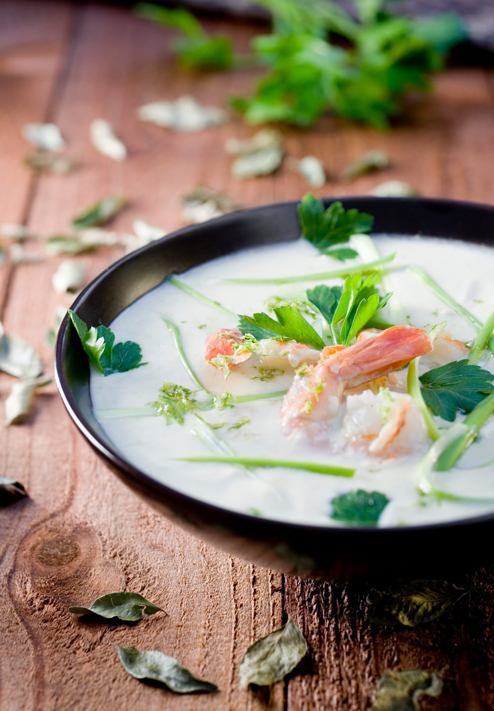 Fish Curry With Coconut & Lemongrass