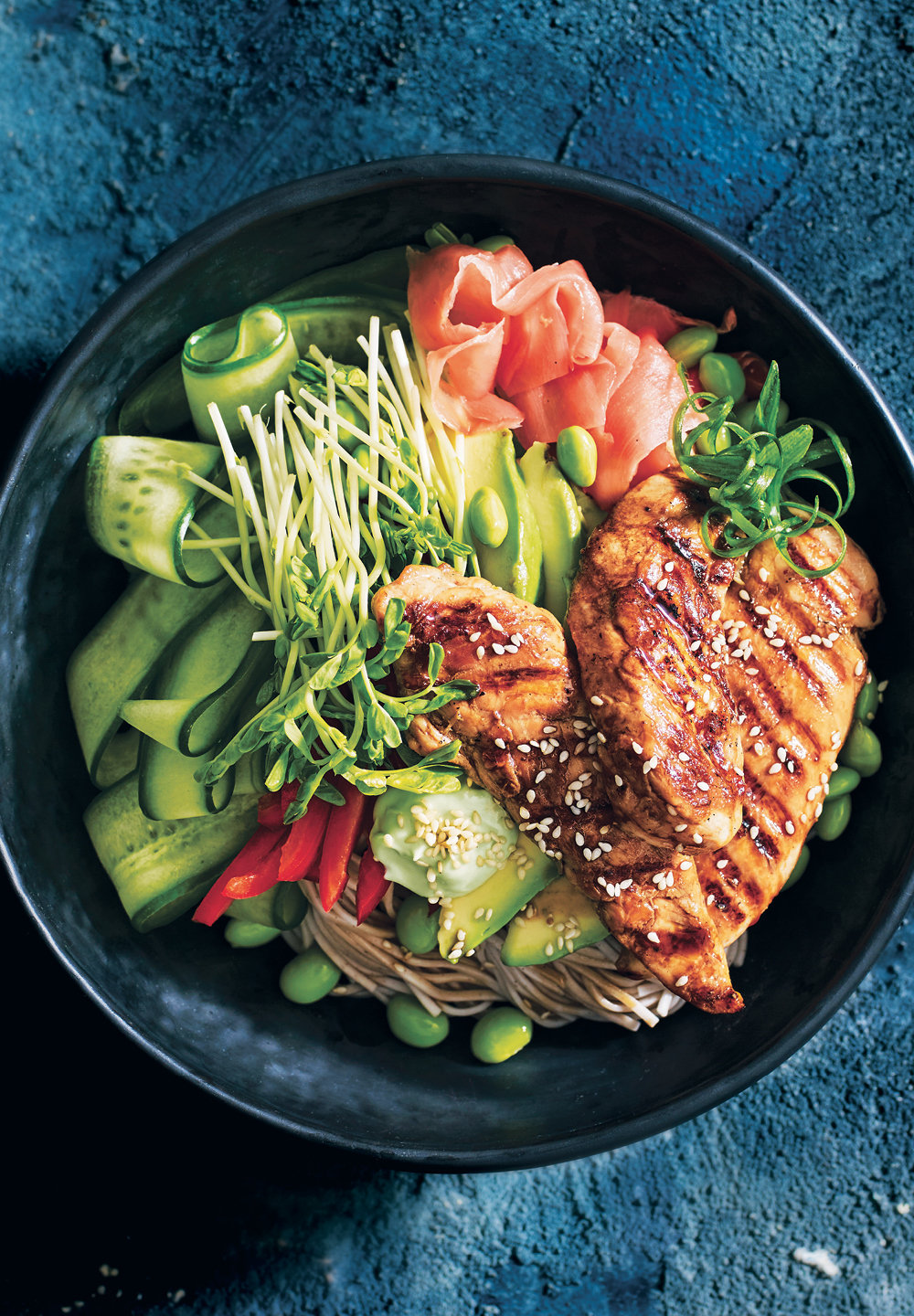 Healthy Teriyaki Chicken Bowl