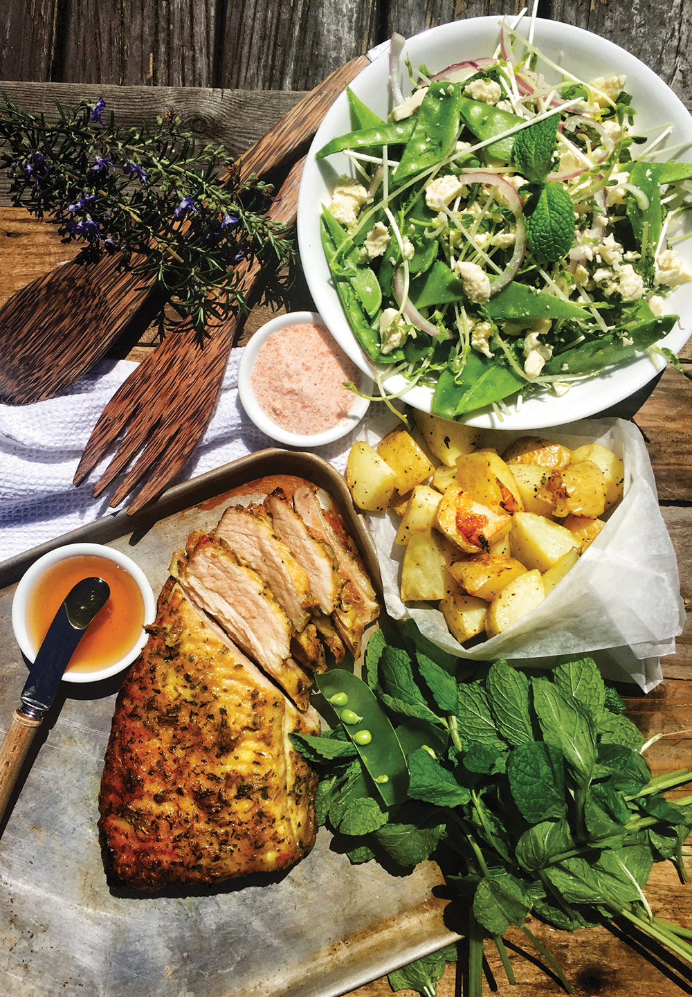 Rosemary & Honey Roasted Pork Belly